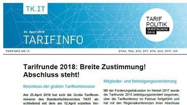 Tarifinfo 17 - Teaser